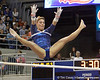 Florida senior Nicole Ellis performs on the uneven parallel bars during the Gators' 196.175-191.875 win against the Illinois-Chicago Flames on Friday, January 13, 2012 at the Stephen C. O'Connell Center in Gainesville, Fla. / Gator Country photo by Tim Casey