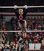 Florida vs Georgia, Feb 16, 2013 - Marissa King scored 9.675 on Bars