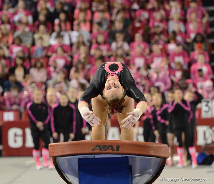 Florida vs Georgia, Feb 16, 2013 - Bridget Sloan scored 9.925 on Vault