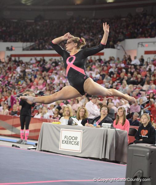 Florida vs Georgia, Feb 16, 2013 - Bridget Sloan scored 9.850 on Floor