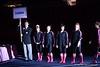 Introduction of Gator Team for the Florida - Georgia Gymnastics meet in Athens, GA, February 16, 2013