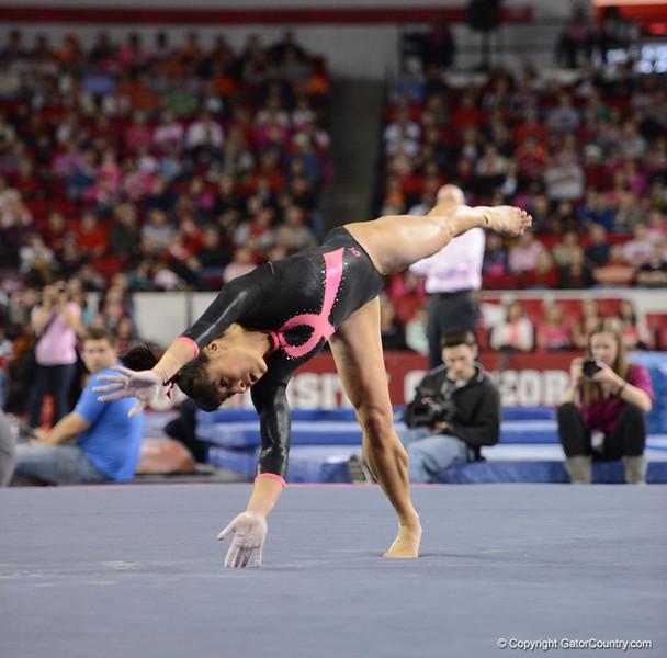 Florida vs Georgia, Feb 16, 2013 - Marissa King scored 9.150 on Floor