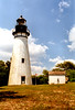 The lighthouse saw increased maritime traffic during the 1850's when the first cross-state railroad in Florida was completed reaching from Cedar Key on the Gulf at the terminal on Amelia Island at Fernandina Beach on the Atlantic.  Lumber, phosphate and other goods arrived and departed under the gaze of the lighthouse until the Civil War interrupted commerce.