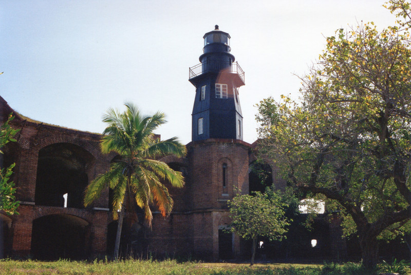 During the 1860's the fort became military prison housing up to 900 Civil War prisoners.  Dr. Samuel Mudd who was found guilty of conspiracy in the assassination of Abraham Lincoln was sent to Fort Jefferson to serve his sentence in 1865.  During a yellow fever outbreak at the fort in 1867 Mudd was praised for his treatment of the sick and in 1869 he received a pardon for his crimes.