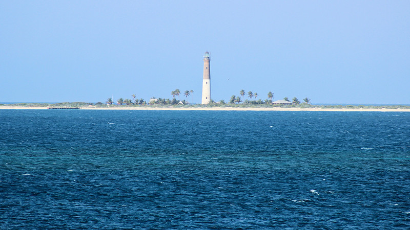 In 1851 the Lighthouse Board addressed the rising amount of traffic in the Gulf by making plans to build a taller light on Loggerhead Key 3 miles to the west of Garden Key.  Upon the completion of the Loggerhead Key Light in 1858 the Garden Key Light was downgraded to a harbor light and a Fourth Order Fresnel lens was installed.