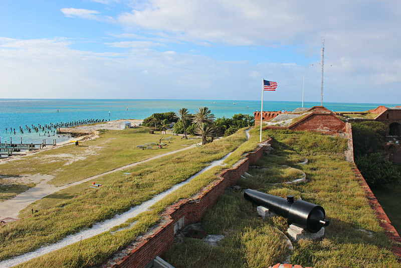In 1921 the Garden Key Lighthouse was determined to be unnecessary and was discontinued.  In 1935 President Roosevelt declared the Dry Tortugas a National Monument.  Eventually in 1992 the Dry Tortugas National Park was opened with Garden Key serving as the home base of park rangers.