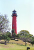 The Jupiter Inlet Lighthouse was first lit on July 10, 1860, however it did not remain lit for long.  As the Civil War began and Florida seceded from the Union, in August 1861 a group of Confederate sympathizers descended upon the lighthouse reservation.  They removed the lamp and a portion of the revolving mechanism to render the light unusable.  The lighthouse would remain dark until June 1866 when the missing parts were located and lighthouse was repaired and returned to service.
