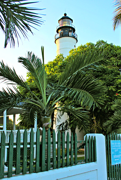 The light was decommissioned in 1969 and the land was acquired by Monroe County.  It was then leased to the Key West Arts and Historical Society.