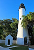 The lighthouse weathered hurricanes in 1835, 1841, and 1842.  Then in 1846 the most powerful hurricane to date struck Key West.  Almost all of the structures on Key West were destroyed.