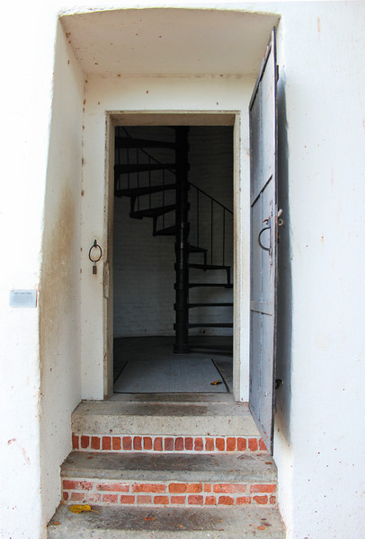 Fourteen people including Mrs. Mabrity's family sought refuge in the lighthouse; however it collapsed during the storm.  Mrs. Mabrity survived however 6 of her children were killed.  Also destroyed in the storm was the Sand Key Lighthouse, eight miles away.