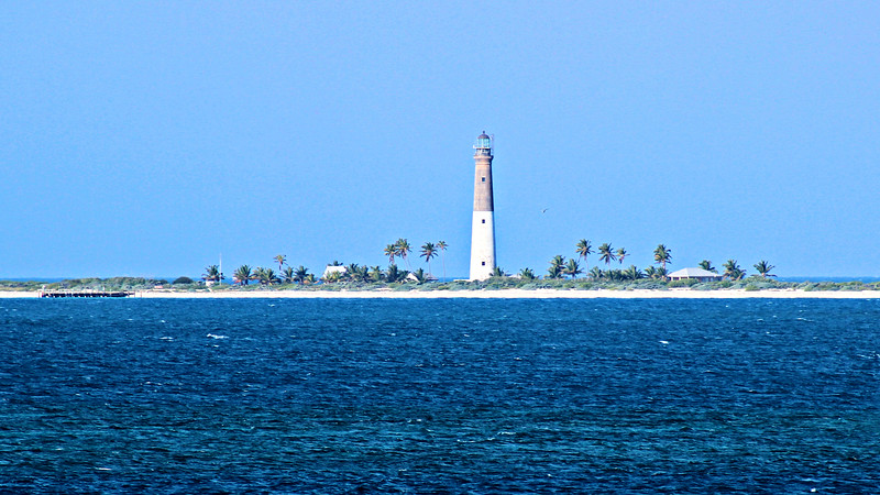 In 1992 Loggerhead Key was made part of the Dry Tortugas National Park and people from the Park Service took over maintenance of the light station.  In 1995 the optic was upgraded to a VRB-25 optic powered by solar batteries.  Although it has seen many changes over the years, the station still evokes a feeling of isolation.