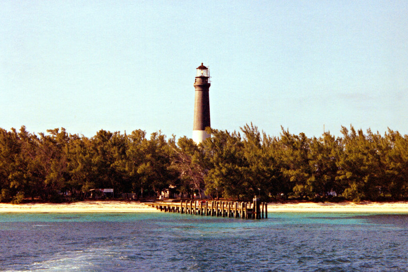 An inspection of the tower in 1868 found that some of the mortar used in the construction of the tower had been washed out by heavy rains.  However repairs were delayed by an outbreak of yellow fever in the Tortugas and Loggerhead Key was quarantined.  In 1871 the quarantine was lifted and the Light House Board had repairs made, in addition they painted the tower with its daymark, the lower half painted white while the upper half was painted black.