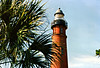 For several years local plantation owners appealed for a new lighthouse to be built. The Lighthouse Board finally agreed that a light should be built between the Cape Canaveral & St. Augustine lights to help light the coast and in 1883 purchased 10 acres of land. Work on the new tower began in 1884 on the north side of the inlet. After several delays due to funding and problems landing materials (the head of the project was drowned trying to land supplies in 1884) the tower was finally completed in 1887.
