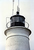Samuel Crosby had been appointed Keeper of the St. Marks Light in January 1830. When the tower was finally completed in 1831 he climbed to the lantern and lit the 15 fixed whale oil lamps with 14 inch reflectors.
