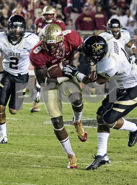 RB Karlos Williams had a huge night with 115 yards on 10 carries joining Devonta Freeman over the century mark.  Florida State set a school record for most points scored as they dominated Idaho 80-14 in the last home game of the season.