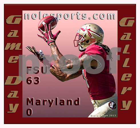 The Florida State Seminoles welcomed the 25th ranked Maryland Terrapins to Doak Campbell stadium Saturday.  What happened next was truly a sight to see.  The 'Noles were firing on all cylinders from the start piling up 614 yards of total offense and limiting the Terps to 234 yards.  The Seminoles dominated in every facet of the game setting up a showdown in Death Valley October 19th versus the #3 ranked Clemson Tigers.  FSU is currently ranked #6.