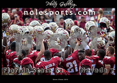 Florida State prepares to take the field against the Nevada Wolfpack Saturday.  The Seminoles defeated the Wolfpack 62-7 on another strong offensive showing.  The Seminoles improve to 2-0 on the season.