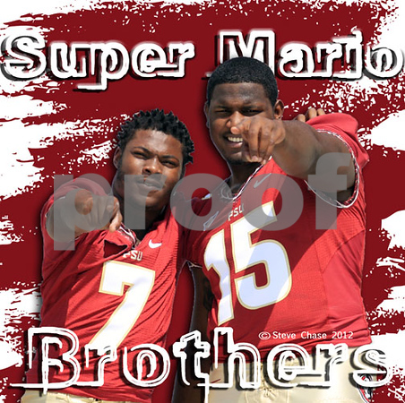THE Super Mario Brothers - Mario Pender & Mario Edwards