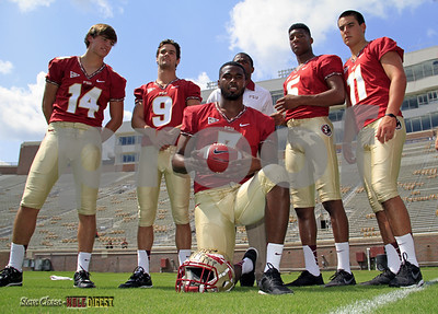 That's a pretty stocked QB group.  Manuel/Trickett/Winston/Coker/Maguire