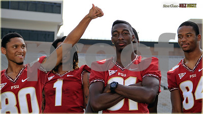 """WR's - Kenny Shaw told me to make sure and """"get this Gumby fade""""..  lol"""