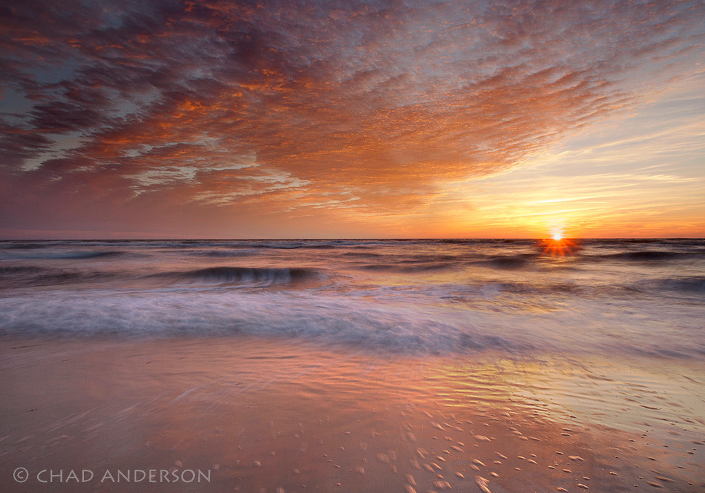 """San Blas Sunset""<br /> <br /> St. Joseph State Park, Florida Panhandle"
