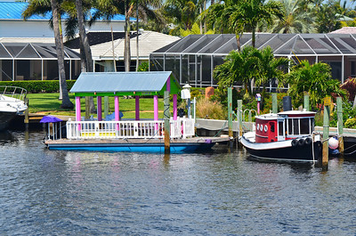 "The Island Princess provides a tour boat that leaves from Sailfish Marina in Stuart and travels down the Inter-coastal Waterway to Jupiter for a nice 4-hour lunch cruise.  Jupiter Island is noteworthy for all of the mega-mansions including a glimpse of Tiger Woods house behind the tall hedges, a great view of the historic Jupiter Lighthouse and a waterside view of the Castaway Marina & Bar where the song ""Five O'Clock Somewhere"" was filmed."