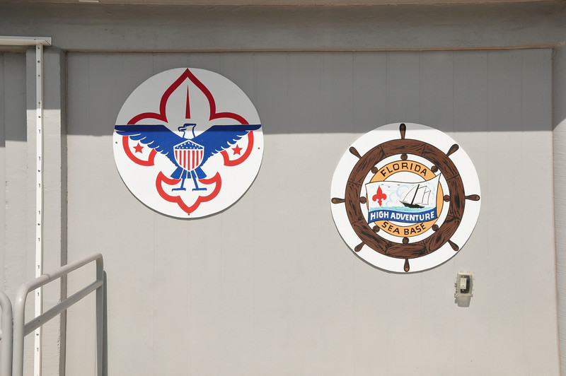 The Florida Sea Base of the Boy Scouts of America is located at MM 73.5 in the Florida Keys.  At this facility scouts learn sailing, scuba diving and various other aquatic programs.
