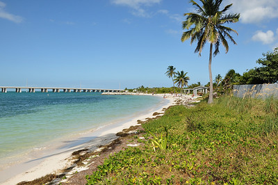 Bahia Honda State Park is at MM 36 in the Florida Keys.  Located next to the Old East Coast Railway trestle bridge it is widely known for its beautiful beaches and magnificent sunsets.