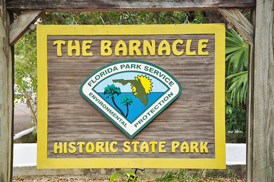 The Barnacle State Park is located in Coconut Grove on Biscayne Bay and was the home of Commodore Ralph Munroe.  Built in 1891 it remains one of the oldest homes in Miami-Dade County.
