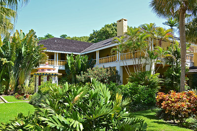 The historic Bonnet House on Fort Lauderdale Beach, Florida