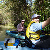Juniper Springs Kayaking<br /> Dave and Diana prepare for the 7 mile paddle...
