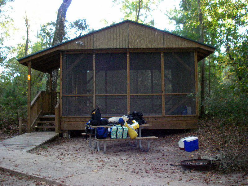 Holton Creek River Camps. Our Stop For The Night.