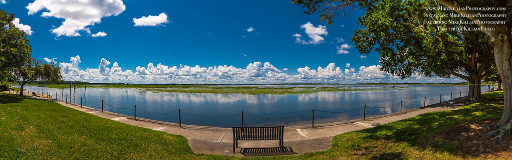 Late Morning on Lake Toho, the Calm Before the Storms...