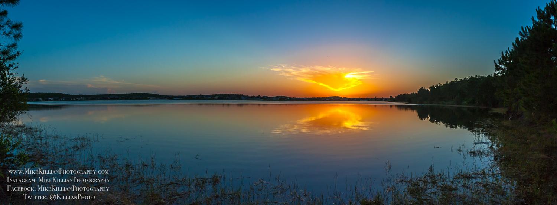 Calm Sunset - Kissimmee, Florida