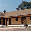 Restoration Completed 1976 and First Florien Depot:  The first KCS railroad depot was completed in 1896 where Hwy 474 crosses the railroad and burned in 1921