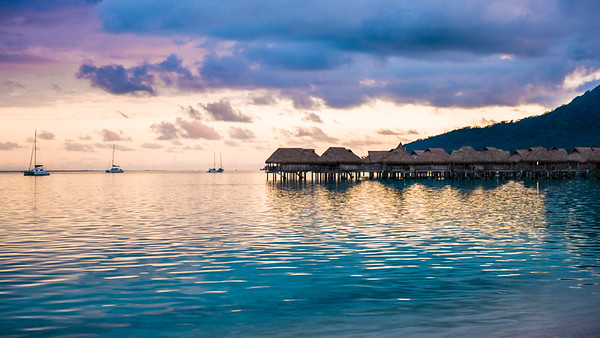 Overwater villas