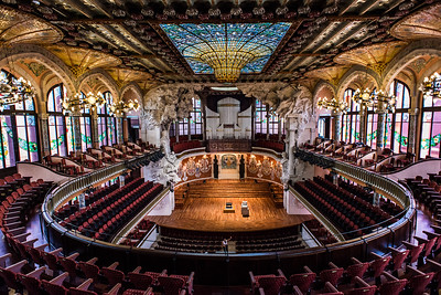 Palau de la Música Catalana, Barcelona