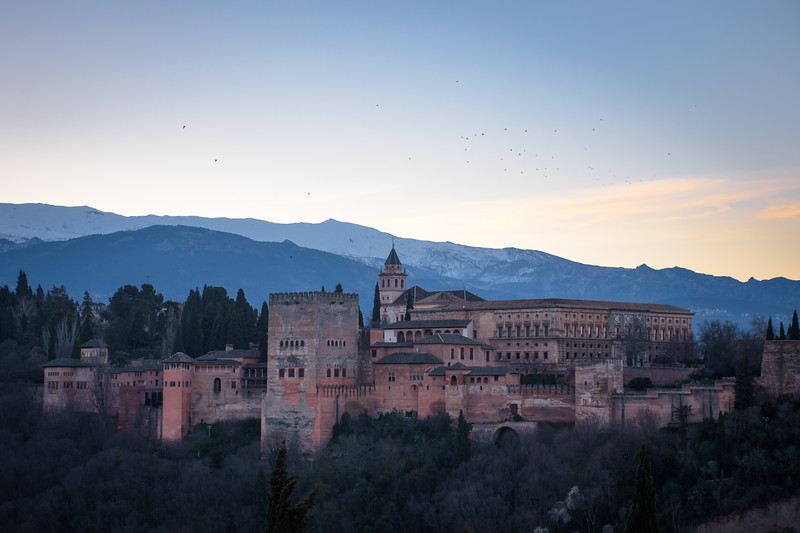 the red one | granada, spain
