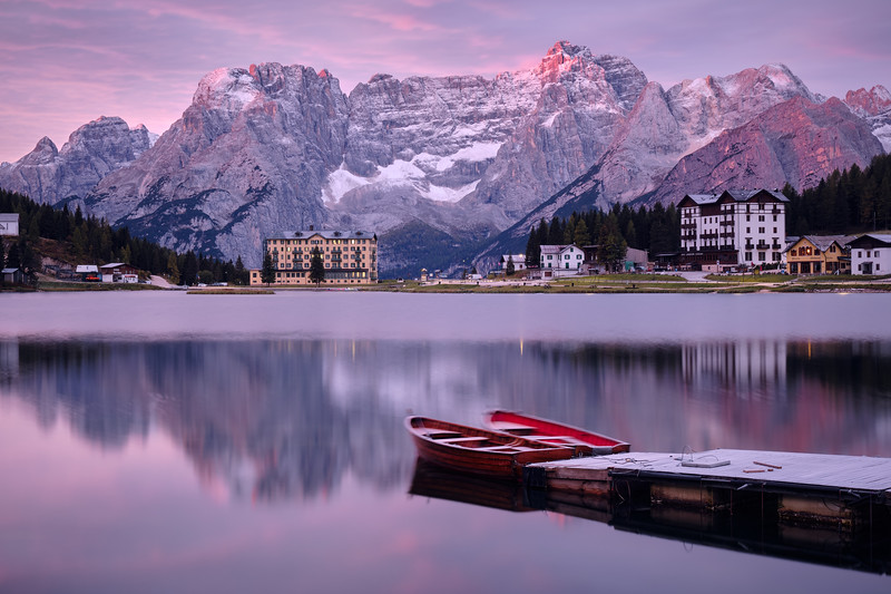 little birth | misurina, italy