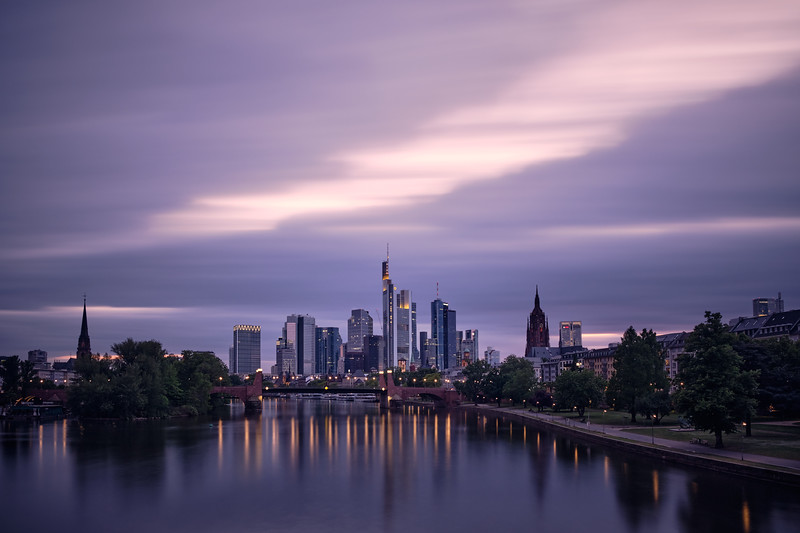 hidden sunset | frankfurt, germany