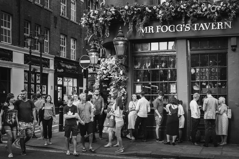 once upon a time in soho | london, uk