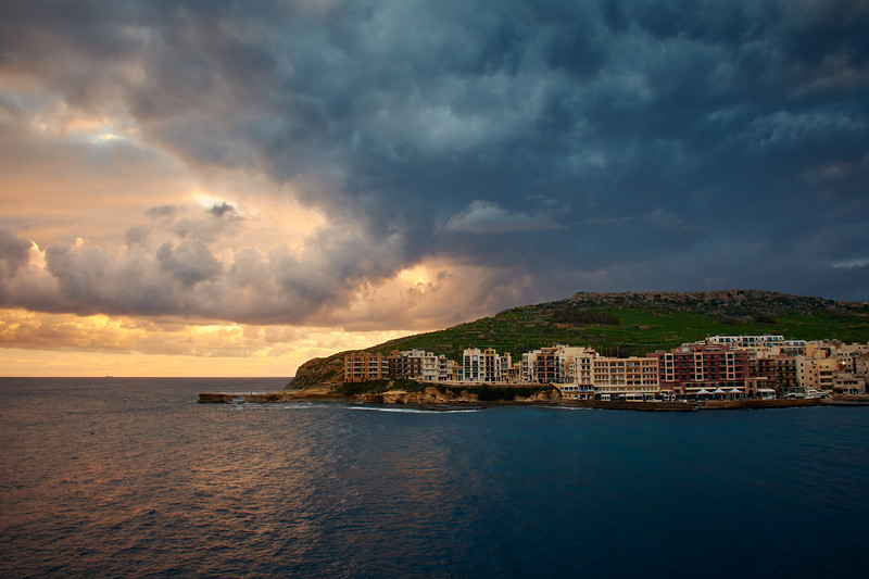the rise of a new day | gozo, malta