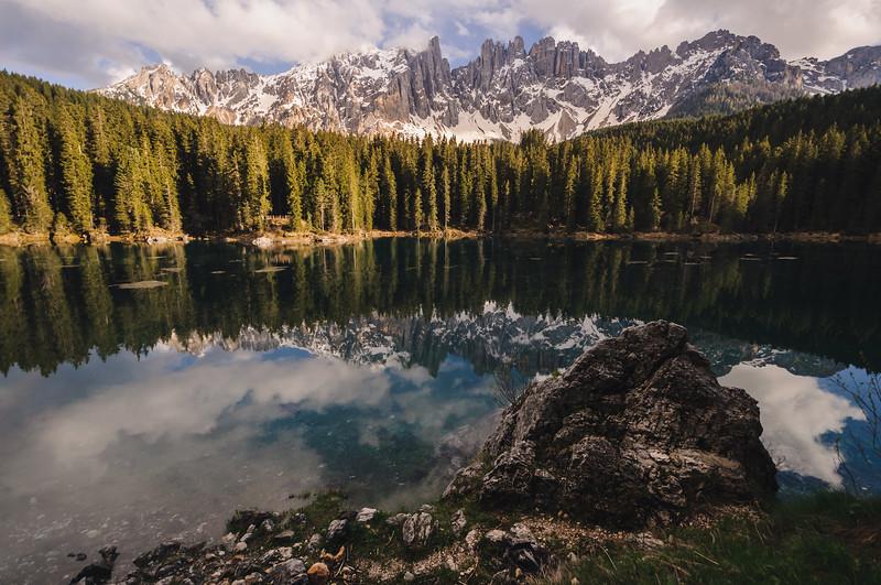 lago di carezza | südtirol, italia