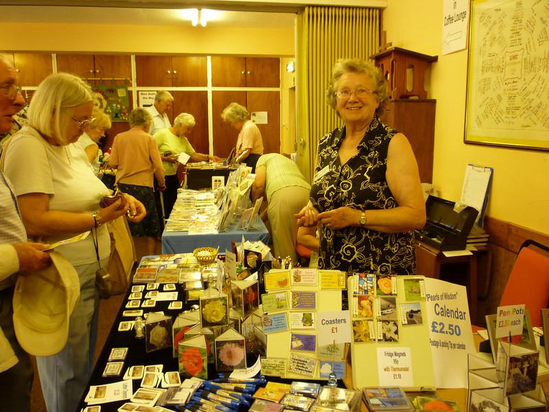 Souvenirs & Handmade Card stall.