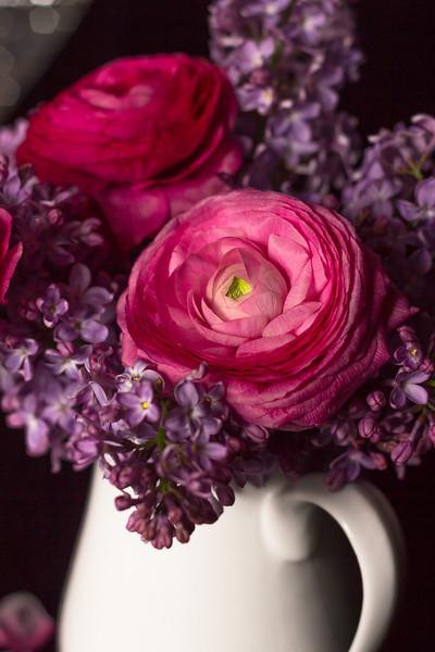 Ranunculus & Lilac