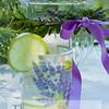 lavender decoupage