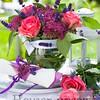 summer garden flower vase