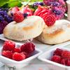 summer raspberry decoration table