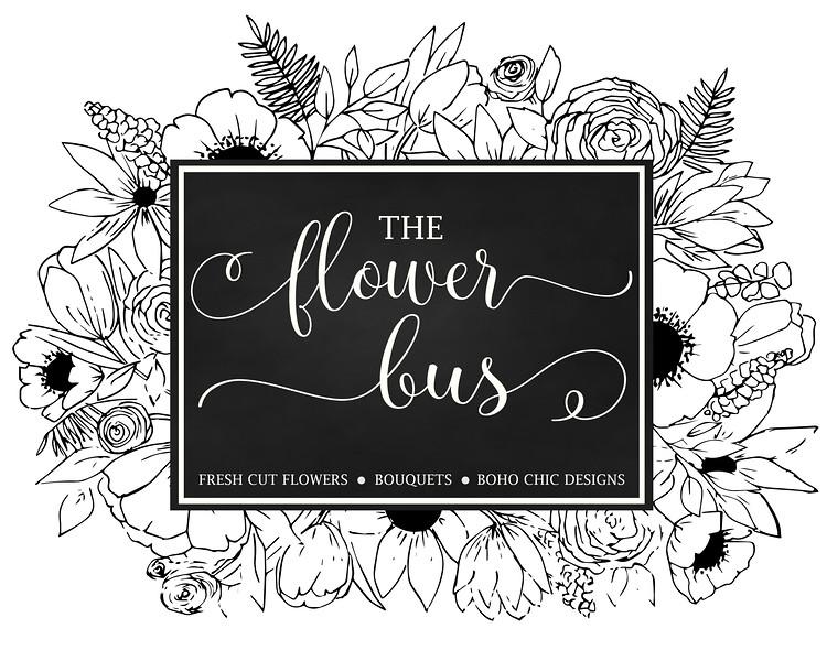 flower bus logo