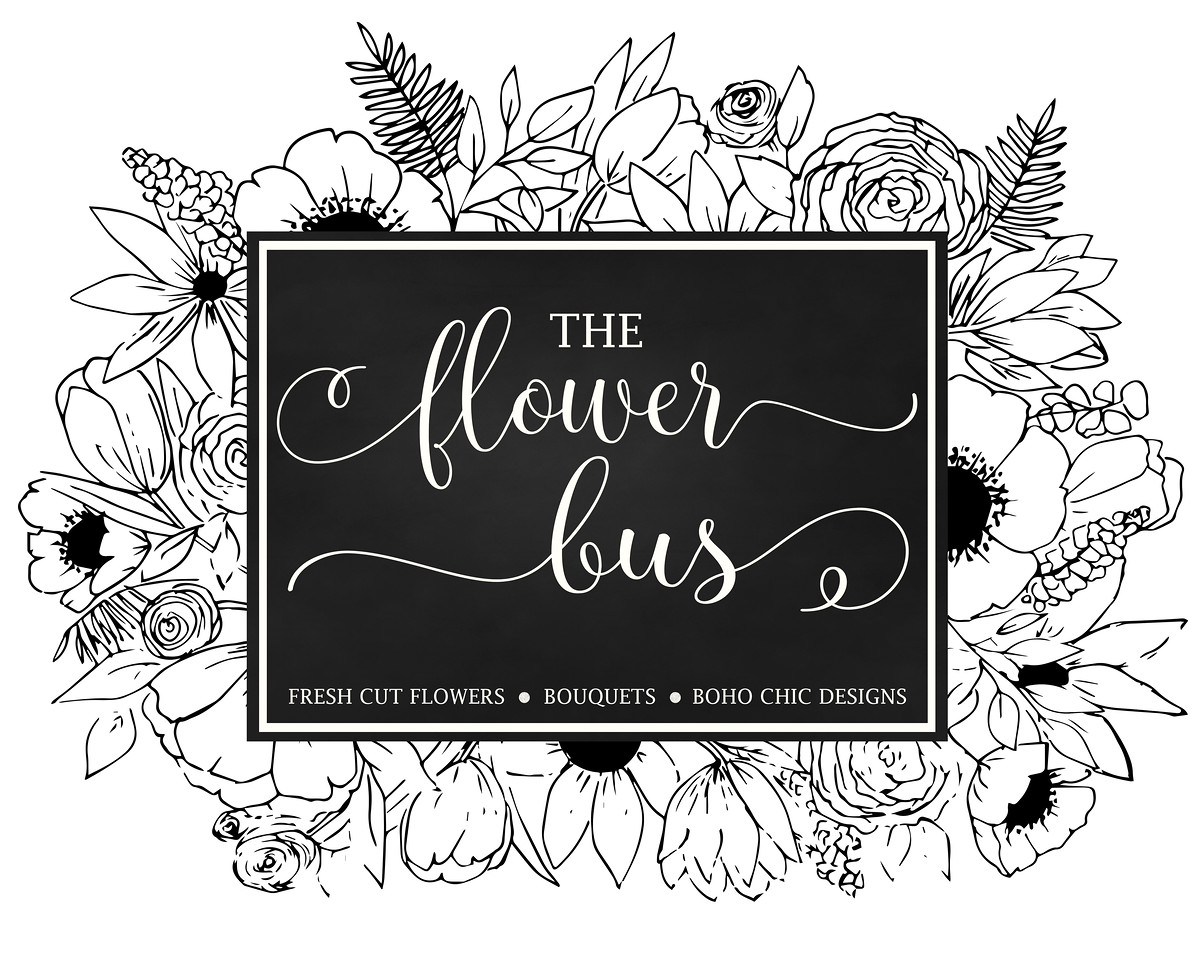 flower bus logo